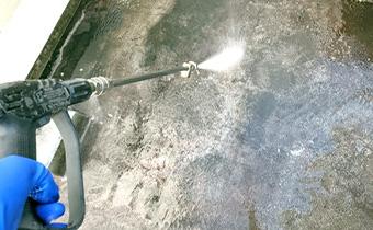 外壁高圧洗浄工事