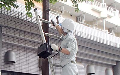 鉄部塗装工事の改修事例