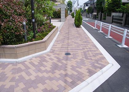 武蔵野市新築マンション 外構工事